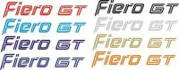 Fiero GT Trunk Decal Multi Color Options