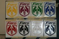 Fiero Emblem Multi Color