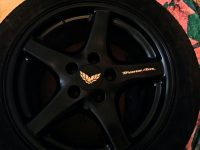 Firebird Wheel Decals set 8