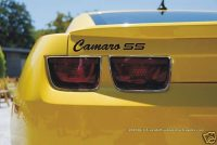 Have one to sell? Sell it yourself Details about 2010 Camaro Rear Decklid Decals - GraphicsPlus123.com