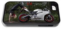 Elizabeth Raab Photography featuring Ducati 899 Panigale and model iPhone 4 www.GraphicsPlus123.com
